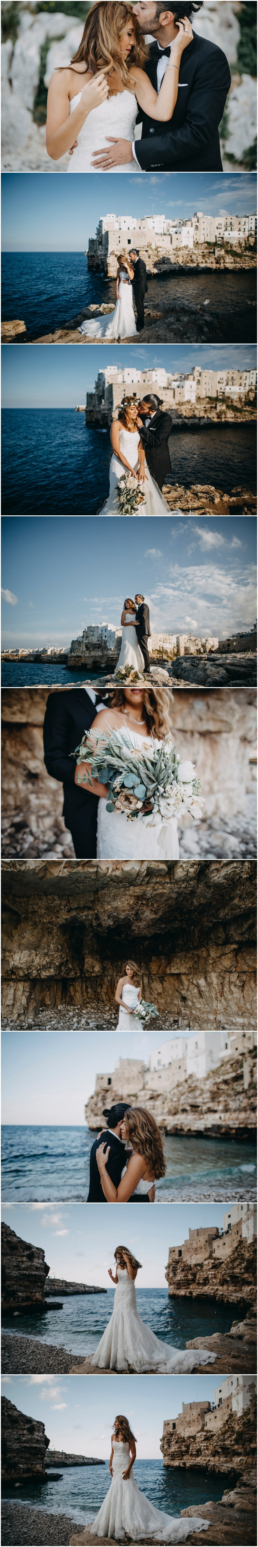 Wedding photographer in Italy Polignano Ostuni
